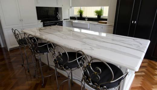 Can I use marble for my benchtop in my kitchen?